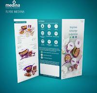 Dusdusan Flyer Produk Medina Paket 500 Lembar ANDHIMIND