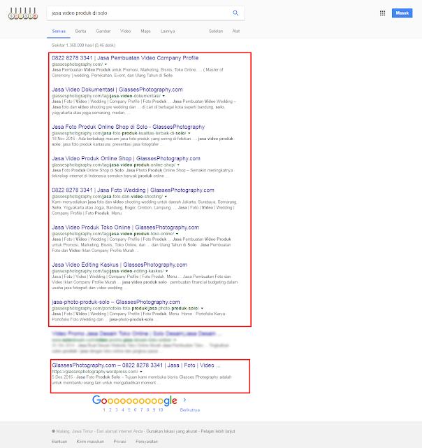 Formula Rahasia Mendominasi Halaman Google