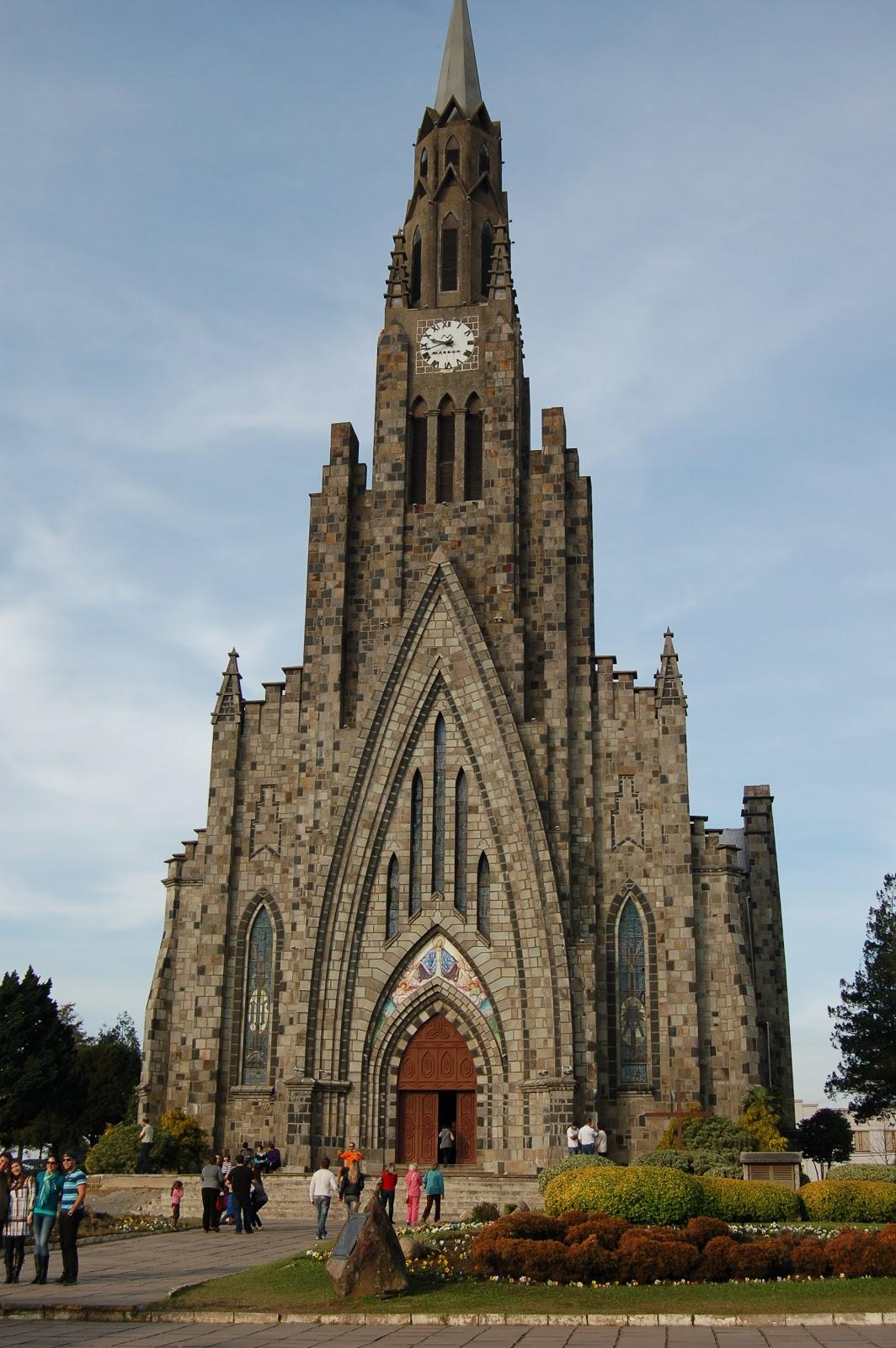 catedral de pedra em canela, rio grande do sul