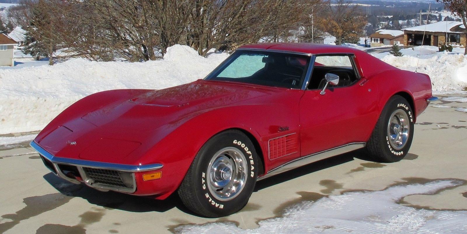 Old Dodge Ram >> All American Classic Cars: 1970 Chevrolet Corvette 2-Door Coupe