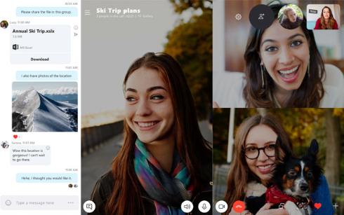 Cara Teleconference Menggunakan Skype di Laptop dan HP