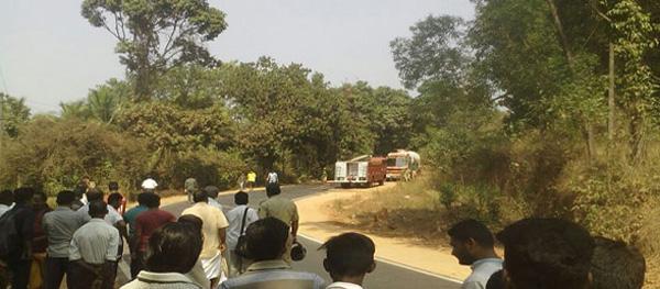 News, Karnataka, National, Driver, Vehicle, Police,Beltangady: Gas tanker drivers' presence of mind averted major tragedy