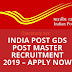 Indian Post Office Recruitment 2019 for Gramin Dak Sevak Posts – Apply Now