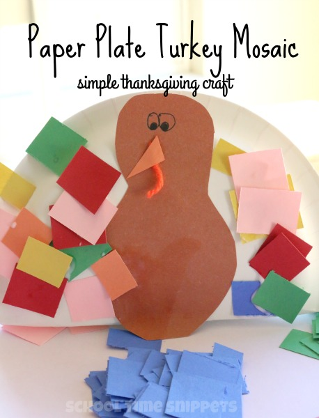 preschool turkey craft