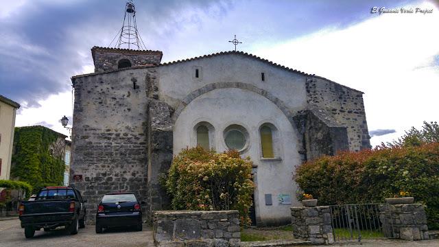 Iglesia de San Andrés, Mialet - Francia, por El Guisante Verde Project