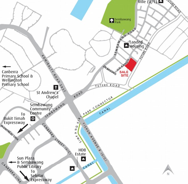 Kandis Residence Location