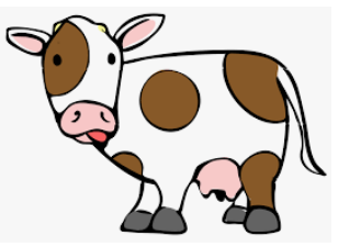 10 lines on cow in Hindi