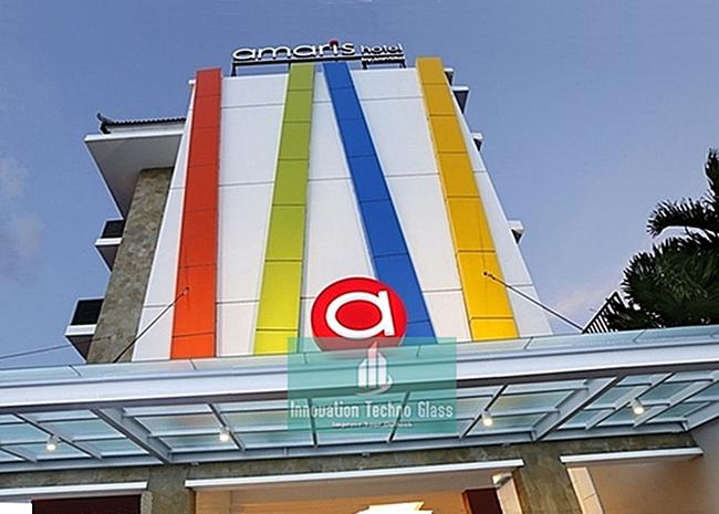 Kanopi Kaca Entrance Hotel