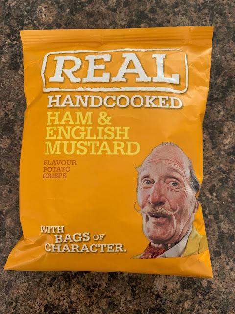 Real Ham & English Mustard Crisps