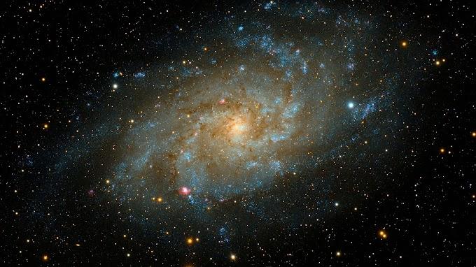 Oceano do Universo Galáxia Espiral