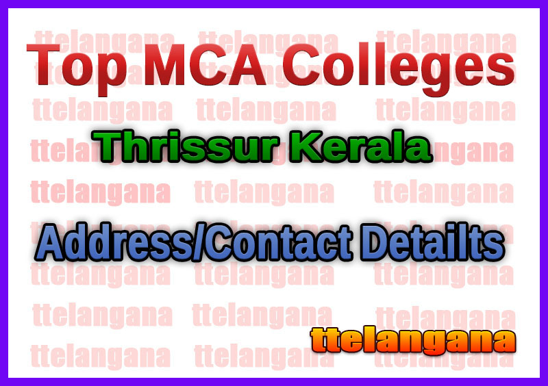 Top MCA Colleges in Thrissur Kerala