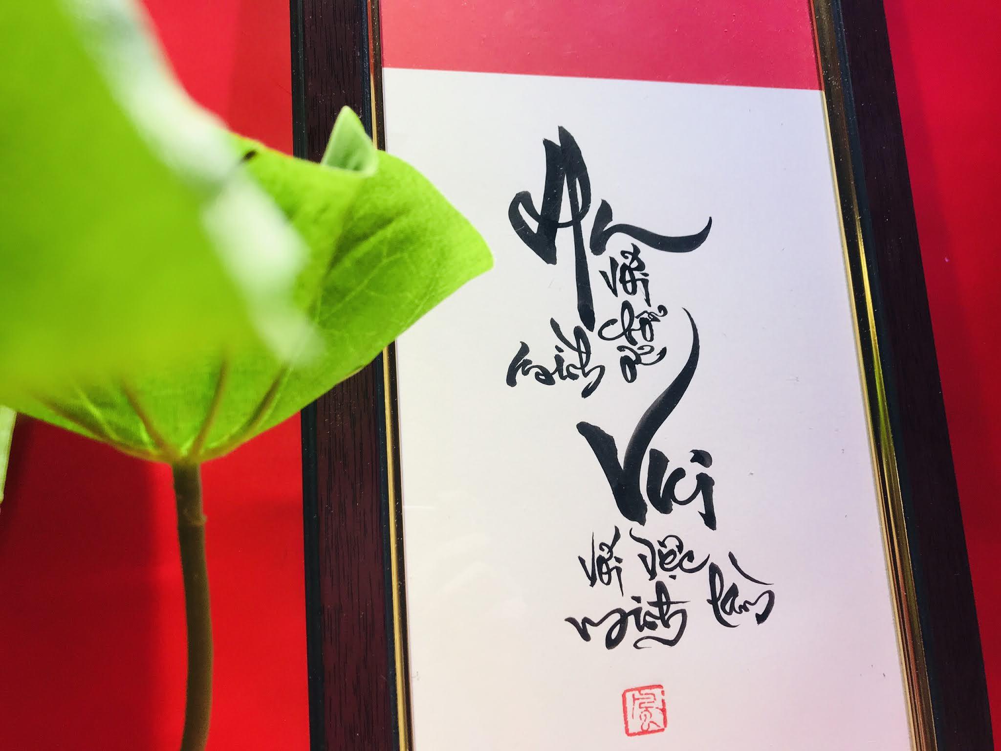Thông tin mua sắm tại thư pháp Thanh Phong