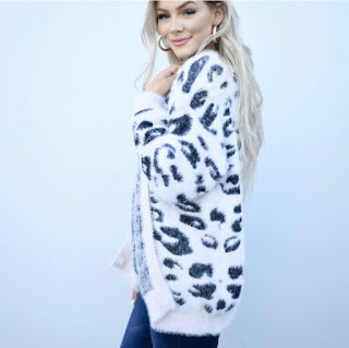 Short Leopard Cardigan- $37.99