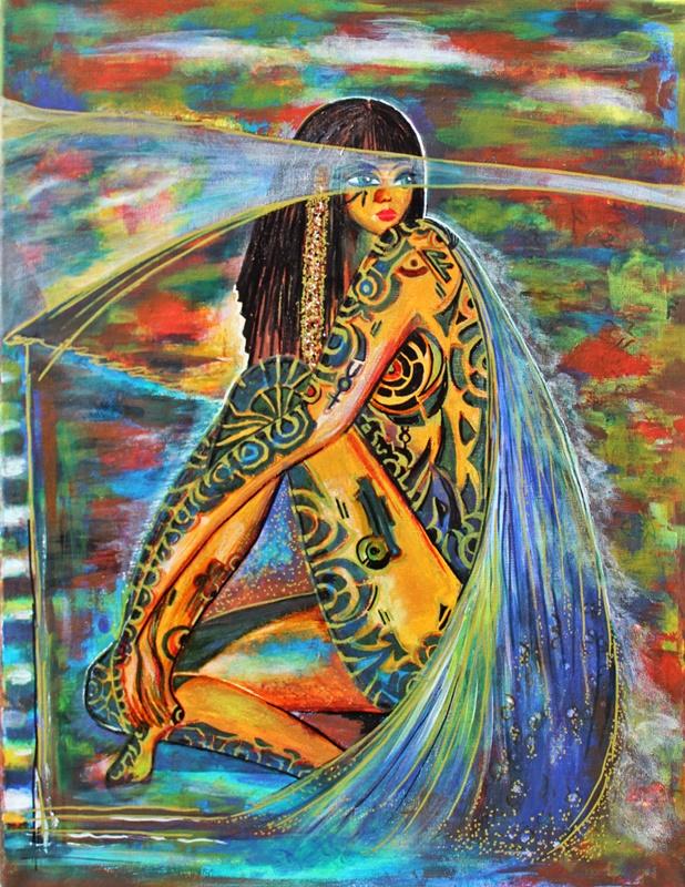 egipcjanka farby akrylow