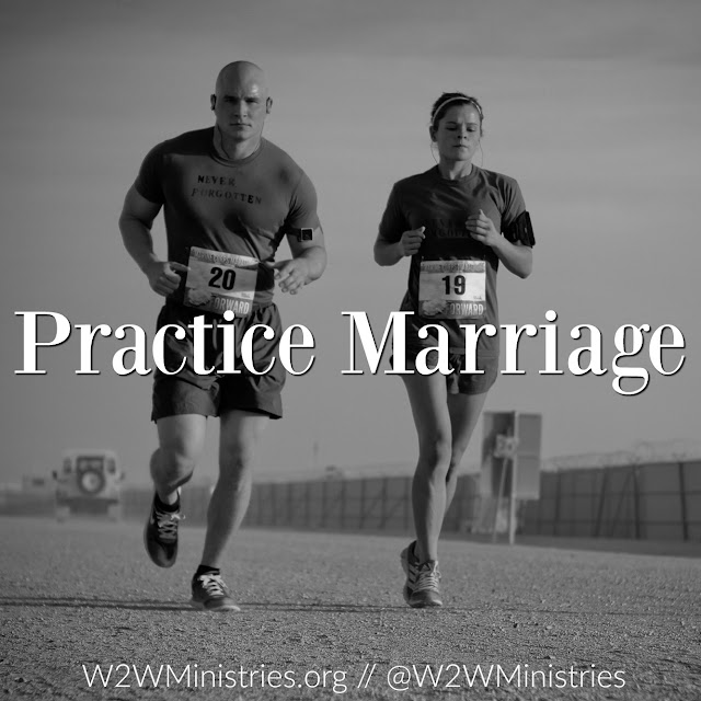 Practice marriage. #marriage #marriagemonday #practicemakesperfect