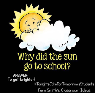 Tonight's Joke For Tomorrow's Students from Fern Smith of Fern Smith's Classroom Ideas