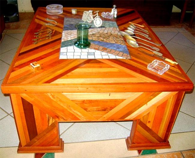 Muebles artesania con reciclados 01