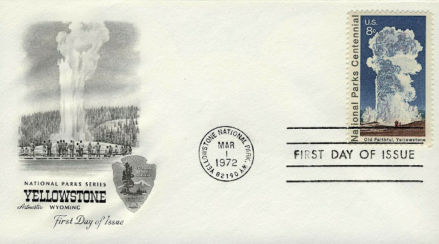 Old Faithful, Yellowstone FDC