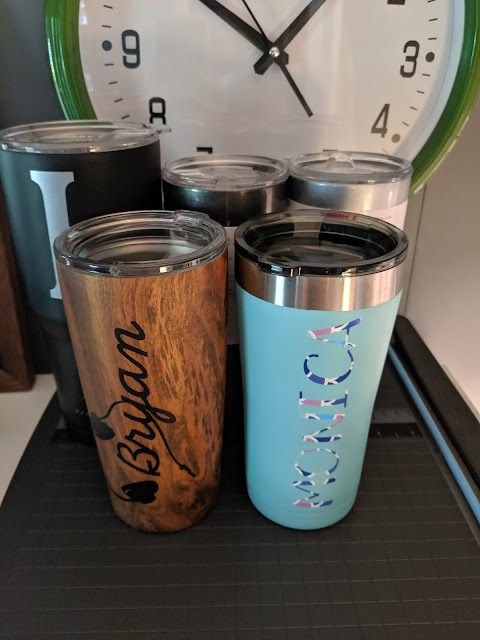 Tumbler Decal Cricut Craft | www.kristenwoolsey.com