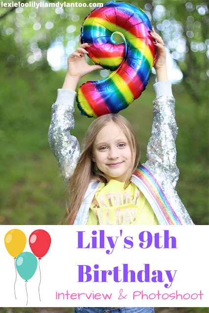 9th Birthday Interview & Photoshoot
