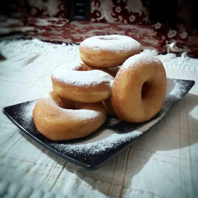berhasil mencoba tips membuat donut kentang empuk anti gagal