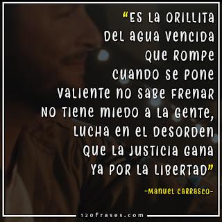 Manuel Carrasco con letra de cancion que bonito es querer