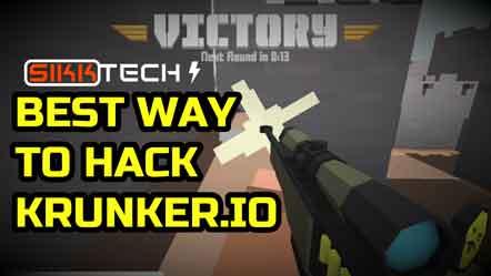 how do you hack krunker game