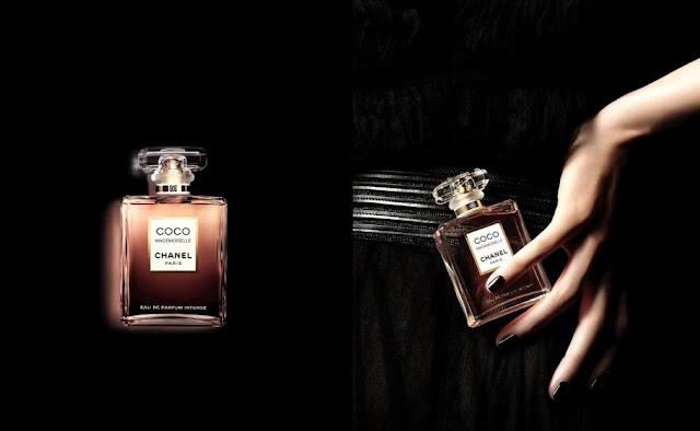 Oficjalne materiały Chanel dotyczące Coco Mademoiselle Intense