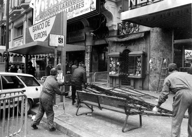 Incendio de la discoteca Alcalá 20 (Madrid).