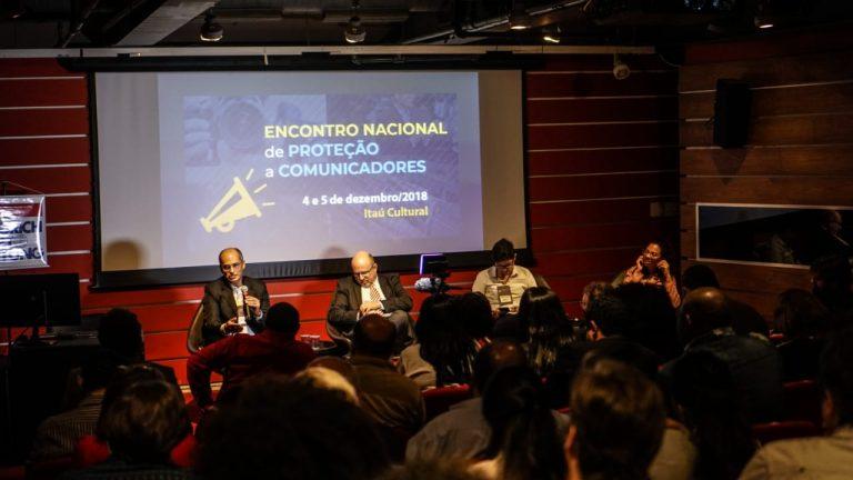 Profissionais de todo Brasil criaram a Rede Nacional de Defesa de Comunicadores
