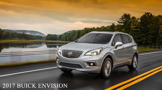 2017 Buick Envision - the New SUV Safety Leader!