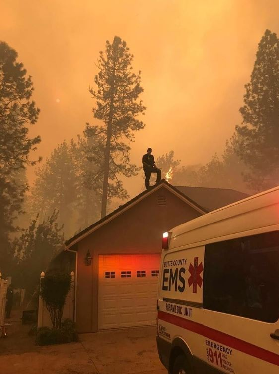 Family Fled the Camp Fire