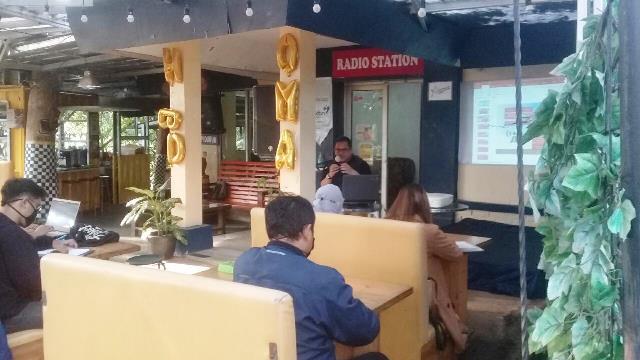 Peserta RBS Dibekali Wawasan Manajemen Radio Komunitas