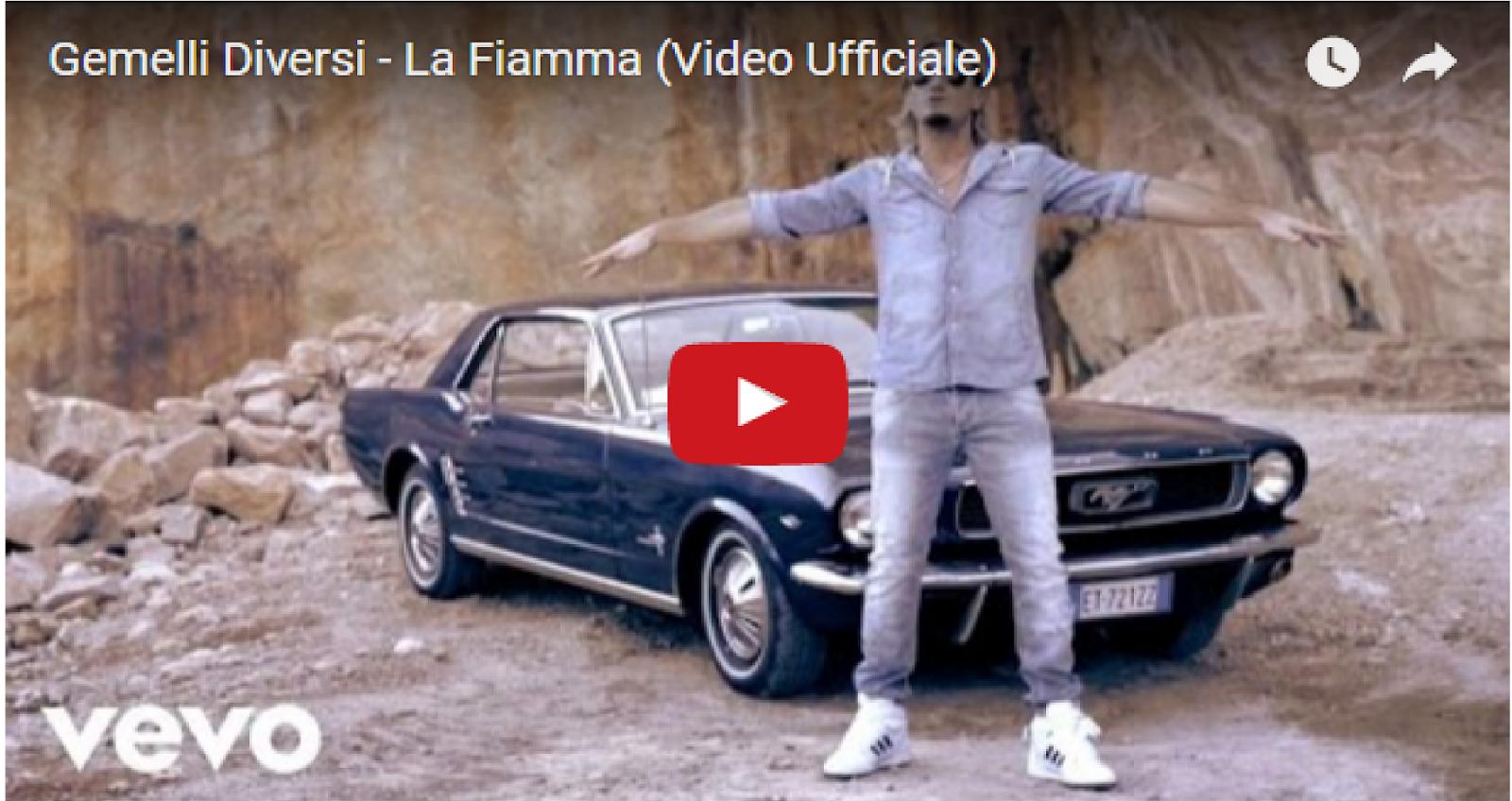 L 39 amore per la musica gemelli diversi la fiamma video - Gemelli diversi video ...