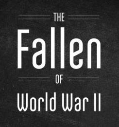 Póster Documental Los caídos de la Segunda Guerra Mundial