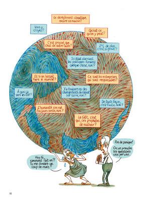 Beaucoup de questions sur l'urgence climatique