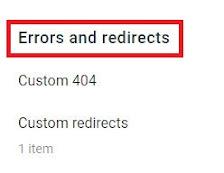 Blogger redirects URL, Change old URL, Change new URL