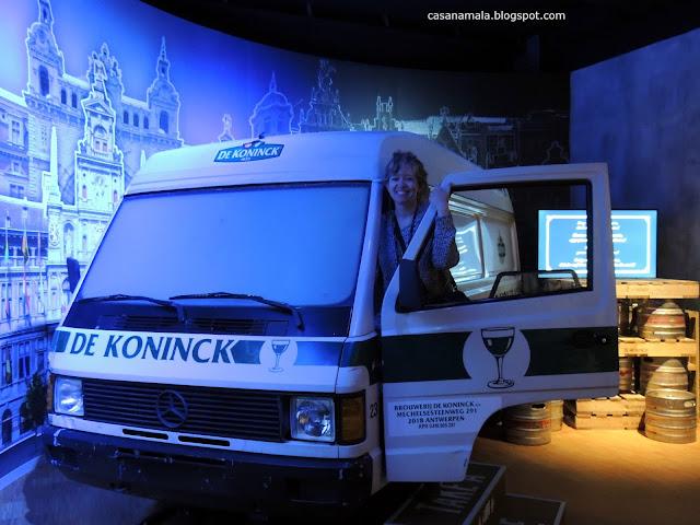 Caminhão antigo Visita Interativa De Koninck