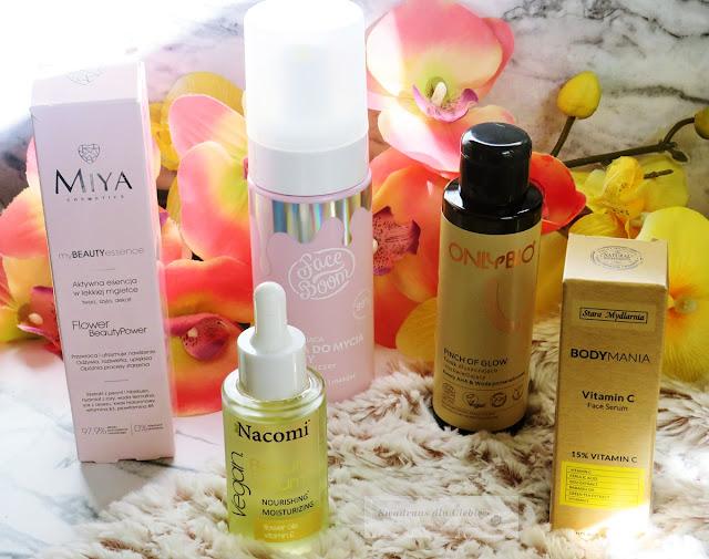 nowości kosmetyczne, pielęgnacja twarzy, kosmetyki do pielęgnacji twarzy, haul kosmetyczny