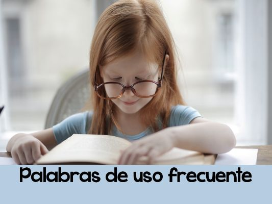 High Frequency Words in Spanish-Palabras de Uso Frecuente