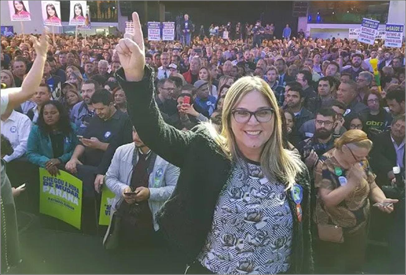Bolsonarista, Marisa Lobo já é a 3ª candidata mais popular na disputa em Curitiba