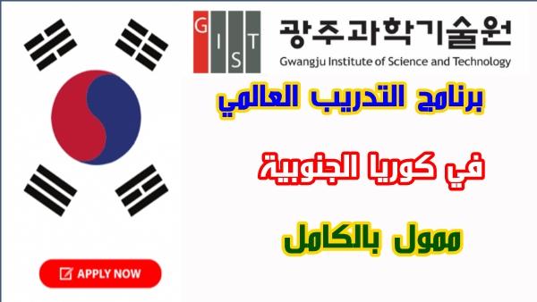 برنامج التدريب العالمي في كوريا الجنوبية 2021 | ممول بالكامل | GIP 2021