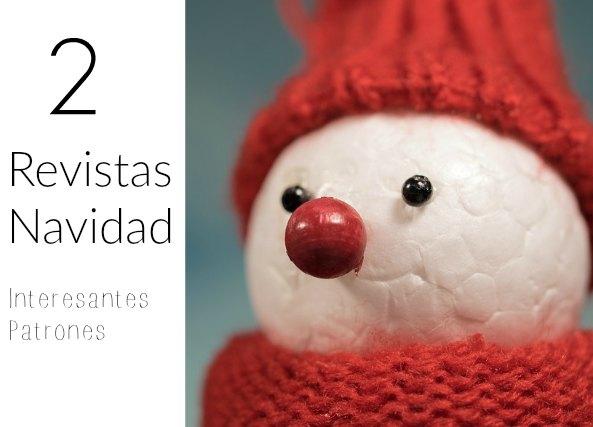 2 Revistas de Navidad de crochet