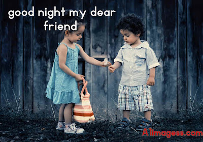 good night friend images hd