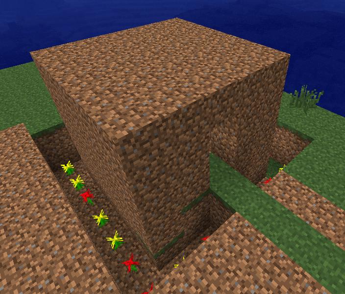 Austin S Blog Minecraft Dirt House