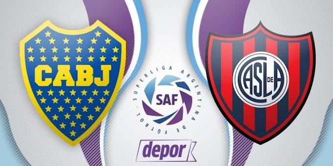Assistir Boca Juniors X San Lorenzo Fe ao vivo