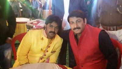 Pawan Singh and Manoj Tiwari