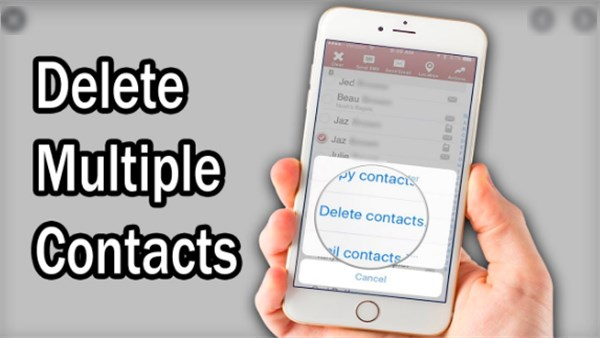 How to Delete Multiple Contacts iPhone