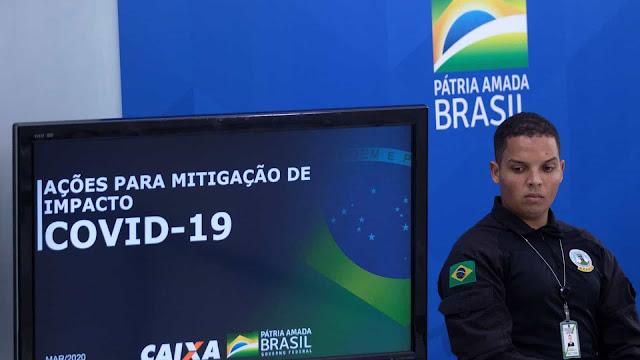Covid-19: Brasil regista 111 mortos e 3.904 infetados