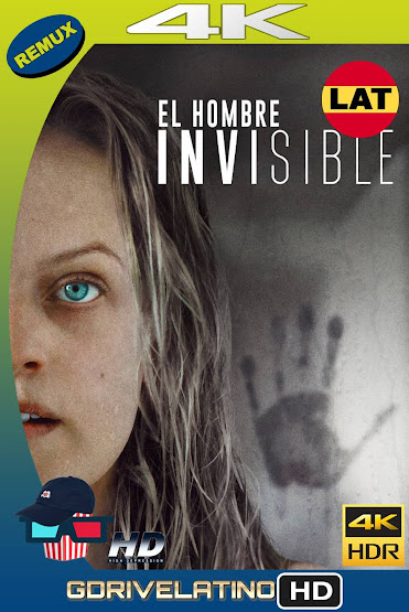 El Hombre Invisible (2020) BDRemux 4K HDR Latino-Ingles MKV